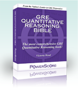 GRE prep books and publications